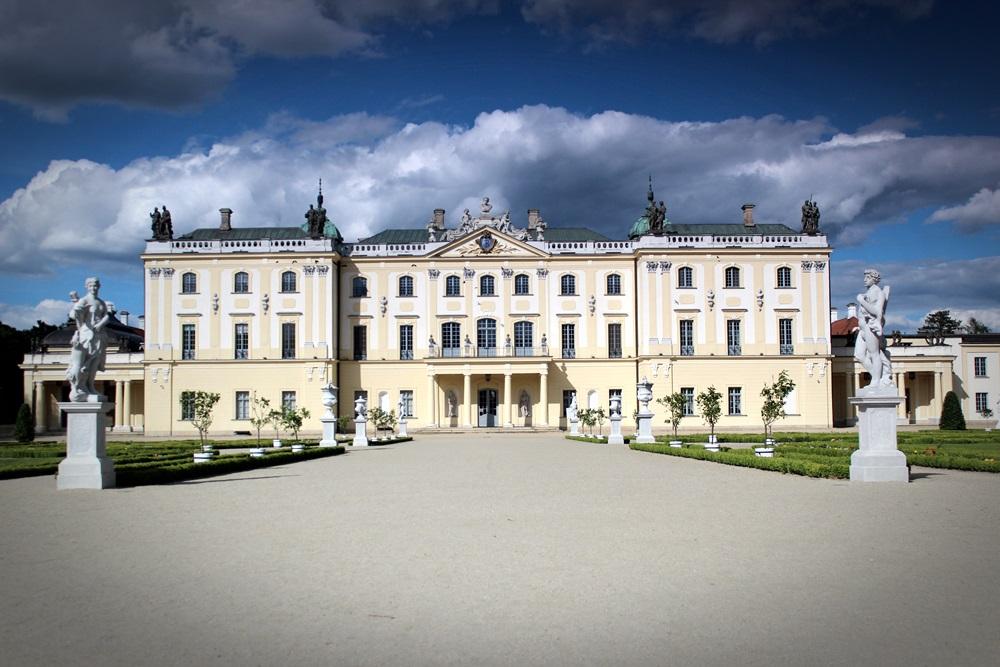 Pałac Branickich w Białymstoku. Siedzina Uniwersytetu Medycznego