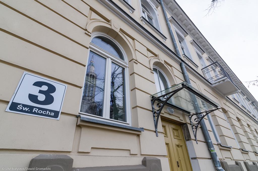 Budynek Centrum Aktywności Społecznej w Białymstoku