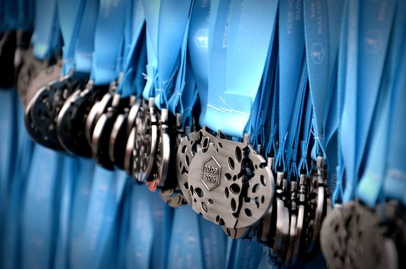 Medale biegu Białystok Biega