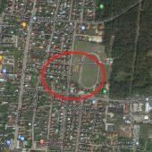 Widok z satelity na tereny Wasilkowa
